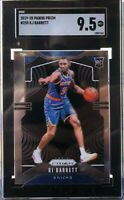 2019-20 Panini Prizm #250 RJ Barrett Knicks RC Rookie SGC 9.5 Mint