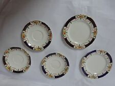 One (1)  Alfred Meakin Osiris Solway Design Cake & Saucer Plate