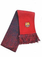 BARCELONA FC NIKE SCARF OFFICIAL LICENSED PRODUCT ~ ADULT UNISEX ~ EMBROIDERED