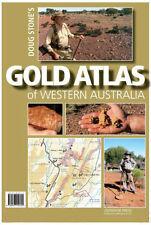 GOLD ATLAS OF WESTERN AUSTRALIA - DOUG STONE - PROSPECTING - HIGH DETAIL