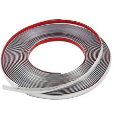 Spiffy 10m Chrome 3M Adhesive Car Door Edge Moulding Trim Guard Strip Protect
