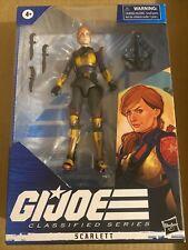 "New listing G.I. Joe - Classified Action Figure, ""Scarlett�, New, 2020, Hasbro"