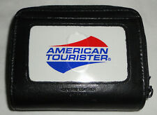 American Tourister Genuine Leather Black Palm Wallet