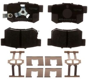 Rr Ceramic Brake Pads  ACDelco Advantage  14D1086CHF1