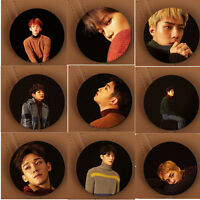 Kpop EXO For Life Badge Winter Special Brooch Chest Pin Gift Baekhyun Chanyeol
