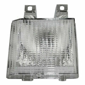 FITS FOR GMC VAN 1983 - 1991 SIGNAL LAMP RIGHT PASSENGER (FOR DUAL HEADLIGHT)
