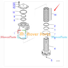 Swivel Center Joint Seal Kit 703-07-13141 For Komatsu Excavator PC35MR-2