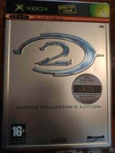 Halo 2: Limited Collector's Edition (Microsoft Xbox, 2004) Steelbook EUROPEAN!