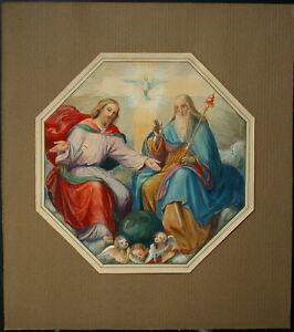 Die Heilige Dreifaltigkeit - Monogrammist 1940