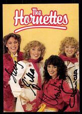 The Hornettes Autogrammkarte Original Signiert ## BC 54236