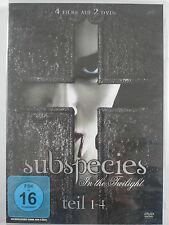 Subspecies In The Twilight - Teil 1 - 4 - Vampir Horror Untote, Zombies Sammlung