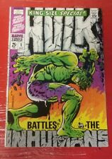 Marvel Comics King Size Special Hulk #1 1958 Cover by Artist Jim Steranko