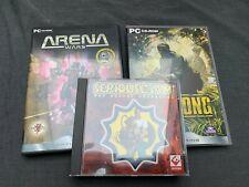 PC-Spiele Vietcong, Serious Sam, Arena Wars