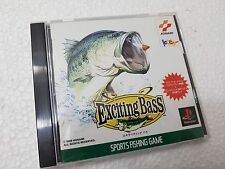 PSX SONY PLAYSTATION JAP NTSC EXCITING BASS - KONAMI - NO SPINE