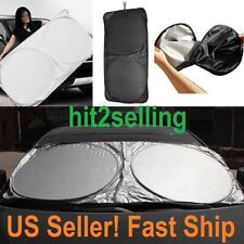 Auto Car Window Foldable Front or Rear Windshield  Sun shade Shield Cover Visor