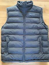 Marmot Men's Grey Vest - Size LG