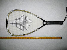 Euc Ektelon Powerring Excel Oversize Racquetball Racquet Power Level 1000