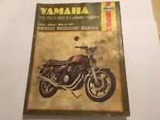 YAMAHA XS750 & XS850 HAYNES WORKSHOP MANUAL D 2D E SE F SF G SG H SH LH 1976-81