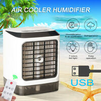 COOL Air Conditioner Portable Mini USB Air Cooler Humidifier Fan Desktop