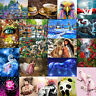 DIY 5D Diamond Painting Embroidery Animal Cross Craft Stitch Kit Home Room Decor