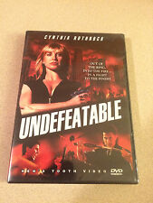 Undefeatable - DVD Cynthia Rothrock New Sealed Martial Arts Hard To Find