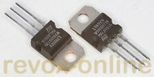 2 Spannungsregler, positiv voltage regulators LM7820, 20V 1,5 A, uA LM 7820 o.ä.