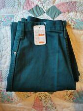 Wrangler SilverLake Rodeo Cowboy Original Fit Green Women Jeans Size 9/10 X 34