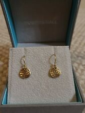Dower And Hall Disc Nomad Earring 13mm Sterling Silver