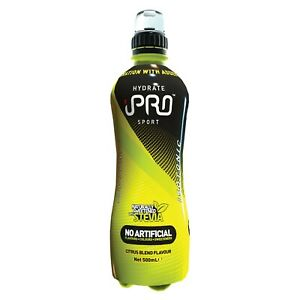 iPRO Hydrate Sport Edition Cirtrus Blend EnergyDrink Natural Ingredient 12x500ml