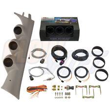 GlowShift Boost Egt Fuel Psi Gauges + Tan Pod for 07-13 Chevy Silverado Duramax