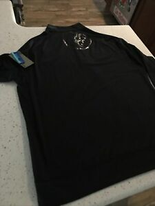 G4 G/Fore Mens L Black LOGO  Golf1/4 Zip Logo Pullover NEW New with Tags $145