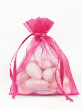 "100 Organza Favor Bags, 3"" x 4"": Wedding Favor Gift Bags, Premuim, USA Shipper"