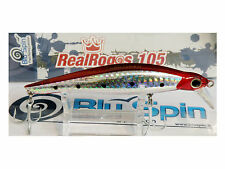 NEW BY BLUSPIN JERK BAIT REAL ROGOS 105 17g 105mm SINKING - COLOR: RR103
