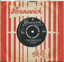 Len Barry:It's that time of the year/Happily ever after:Brunswick:Northern Soul