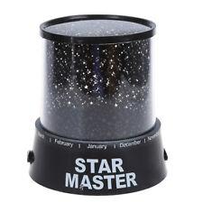 Romantique Star Master Coloré Nuit étoilée Cosmos Projecteur Bed Side Lampe E0M6