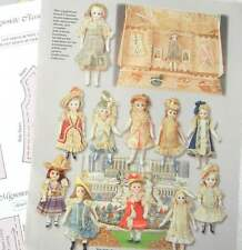 "Wardrobe Pattern to fit 5"" Inche French Mignonette BISQUE Doll .Plus article."