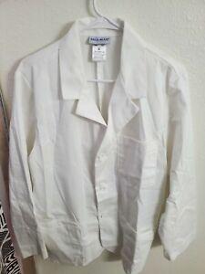 """NWOT Med-Man 31"""" Men's Consultation Lab Coat 1389 White Size Medium"""