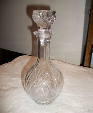 Free Shipping NEW Barware Crystal Glass Cordial Decanter Caraffe