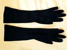 Vintage Ladies Gloves- sz 6 1/2- nylon stretchy- 1950