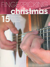 Fingerpicking Christmas Learn to Play Xmas Carols Songs Guitar TAB Music Book