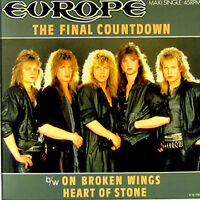 MAXI Schallplatte Europe The Final Countdown