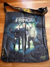 FRINGE sdcc 2012 FOX Exclusive 2 Sided Bag ANNA TORV JOSHUA JACKSON JOHN NOBLE