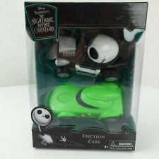 Friction Cars Nightmare Before Christmas Jack Skellington & Oogie Boogie Toy New