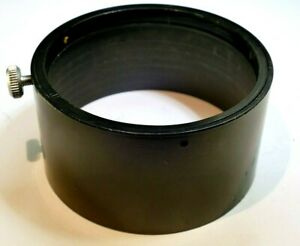 62mm Plastic Slip on type Lens Hood Shade Telephoto