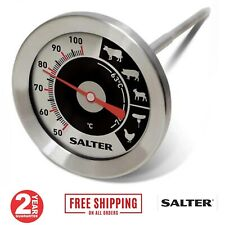 Salter Analogue Meat Thermometer Poultry Beef BBQ Oven Food Temperature Probe