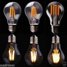 Edison Filament Vintage COB LED Glühbirn Licht Lamp Retro Bulb E27 2/4/6/8W 220V