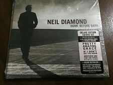 NEIL DIAMOND HOME BEFORE DARK - CD 14 TRACKS + DVD - 2008 - NEW SEALED NUEVO