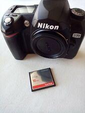 NIKON D70 Digital SLR Camera Body + 16GB Sandisk Ultra CF, Shutter Count 7455