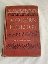 Old Hardback Modern Biology By Moon Mann Otto