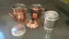 Vtg Copper Neapolitan flip coffee pot - cuccumella - caffettiera napoletana